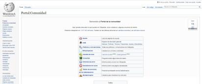 """Wikipedia es un ejemplo de una página colaborativa que surgió del concepto de los """"wikis""""."""