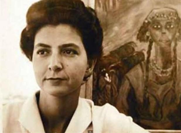 La egipcia destacó en las técnicas pictóricas del surrealismo y el divisionismo (Foto: especial)