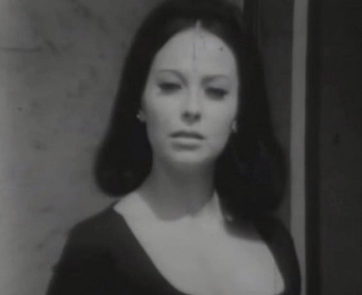 """Fanny Cano como """"Rubí"""", en 1968"""