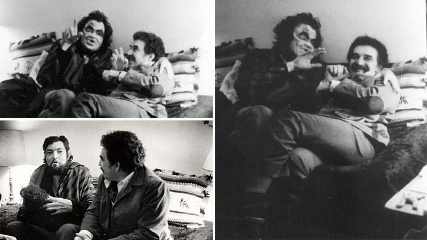 García Márquez y Julio Cortázar, por Sara Facio, en París