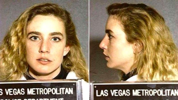 Dana Plato en Las Vegas tras un robo a un comercio