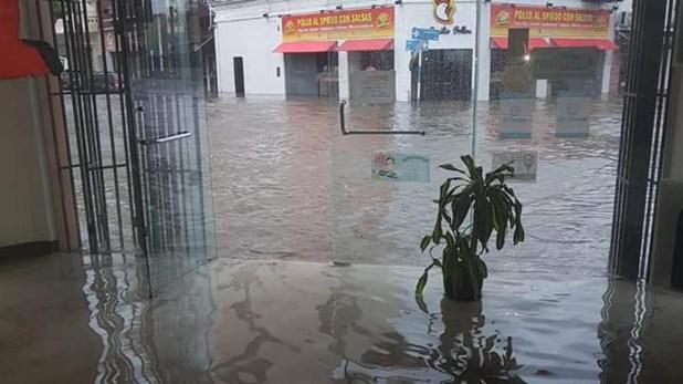 Corrientes, otra provincia gravemente afetada por el temporal que azotó el Nordeste (Twitter: @NorteCtes)