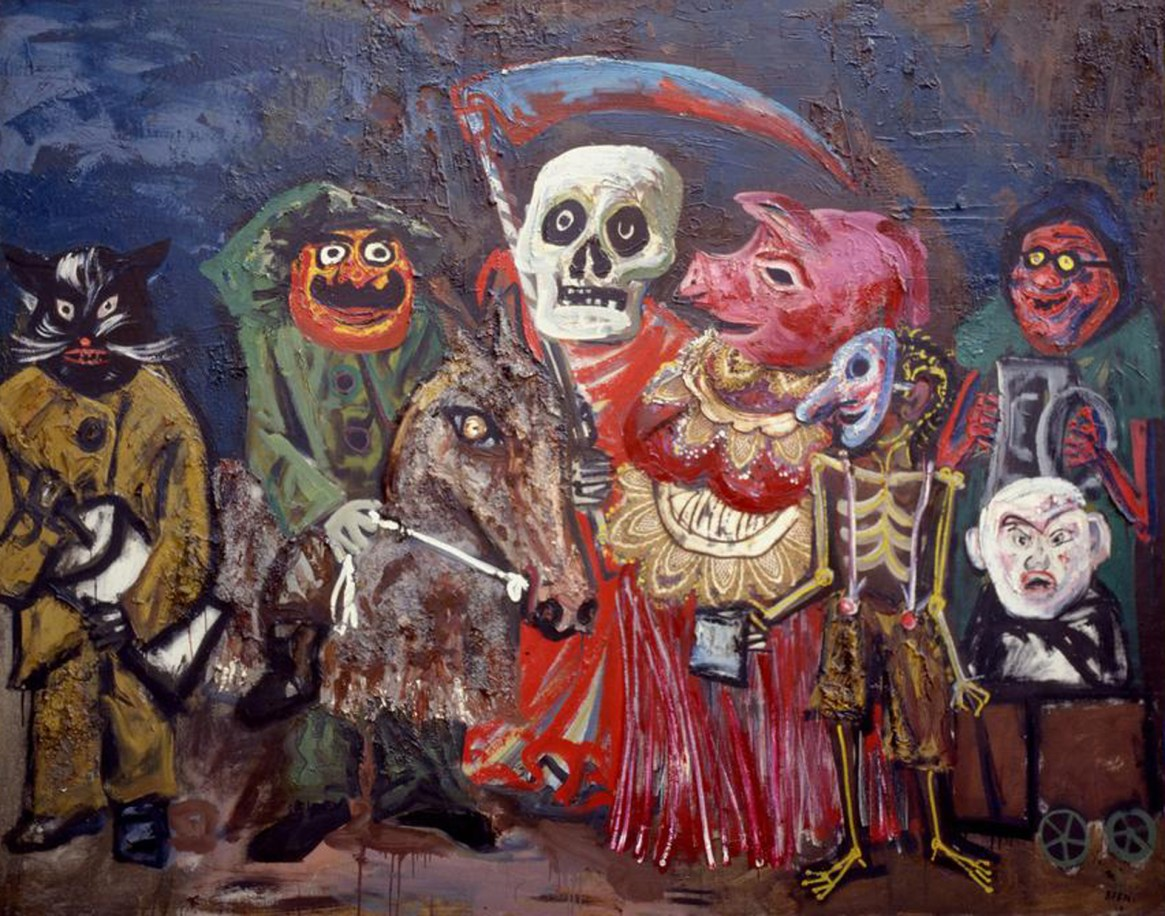 """El carnaval de Juanito Laguna"", Antonio Berni, 1960"