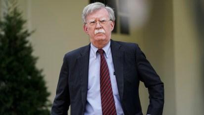 John Bolton, consejero de Seguridad Nacional de la Casa Blanca (REUTERS/Joshua Roberts)