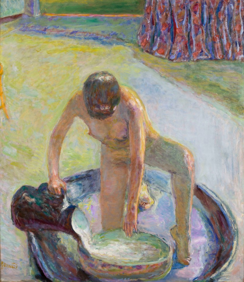 """""""Nude Crouching in the Tub"""", 1918"""