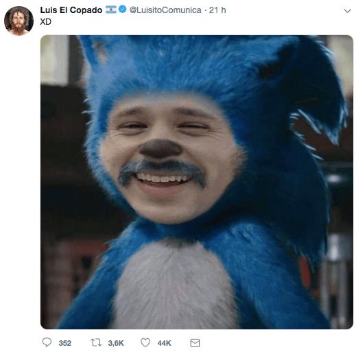 Luisito Comunica Sonic 1
