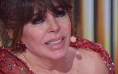Verónica lloró al ver a su nieta Rafaela (Captura video Las Estrellas)