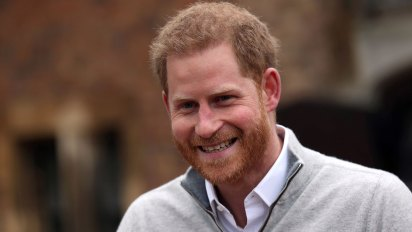 El prínicipe Harry habló con la prensa sobre el nacimiento de su hijo (Reuters)