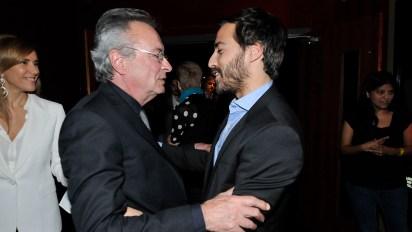 Oscar Martínez y Nicolás Francella