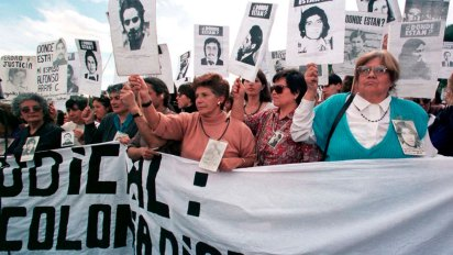 Familiares de las víctimas de Colonia Dignidad(REUTERS)