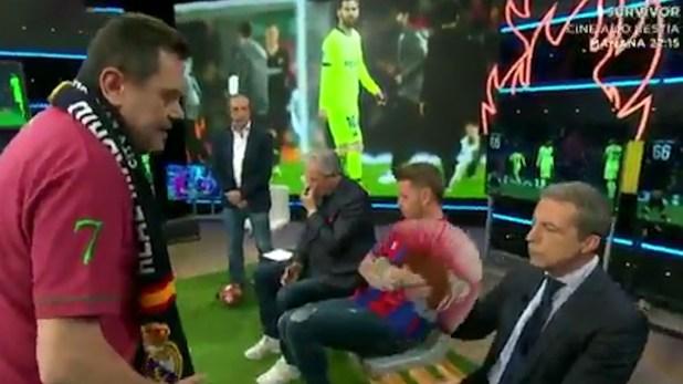 """En el """"Chiringuito TV"""" criticaron con duresa a Lionel Messi"""