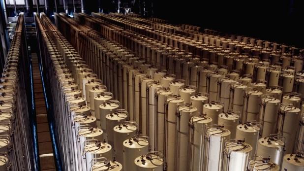 Centrifugadoras de gas utilizadas para el enriquecimiento de uranio