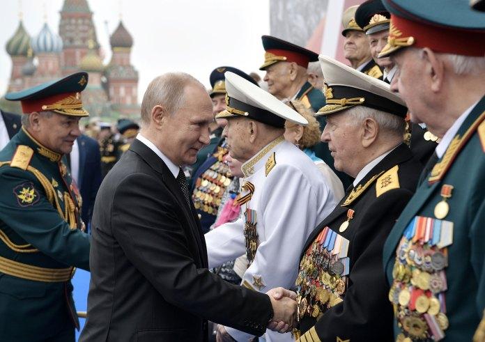 """""""Las lecciones de la guerra siguen siendo actuales"""", dijo Putin (Reuters)"""