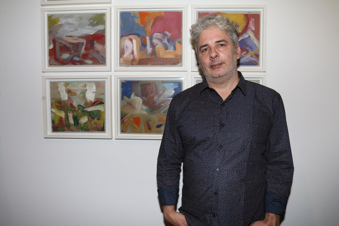 El artista Juan Lado