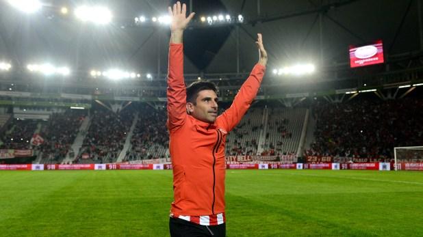Rodrigo Braña juega su último partido como futbolista profesional (Foto Baires)