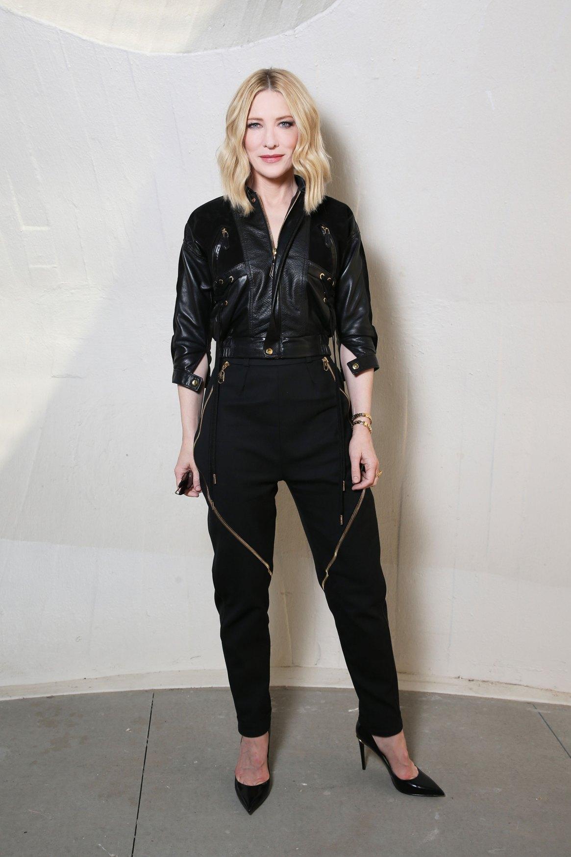 Cate Blanchett siempre elegante.