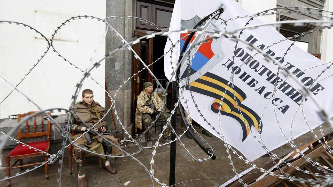 """Con la secesión de Crimea, el siguiente punto de tensión fue el brote separatista enlas autoproclamadas """"repúblicas populares"""" de Donetsk y Lugansk. Foto: Archivo DEF."""