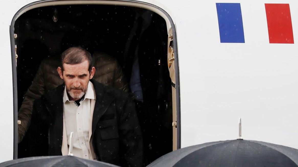 El rehén liberado Patrick Picque(Francois Guillot/Pool via REUTERS)