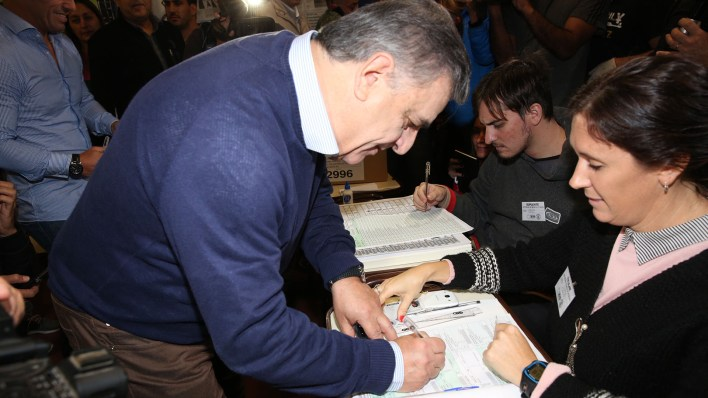 Negri negó haber ser el candidato de La Rosada (Mario Sar)