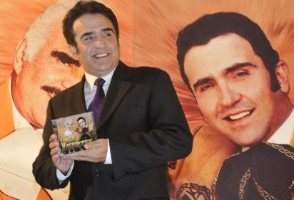Vicente Fernández Jr. en el 2012 (Foto: Cuartoscuro)