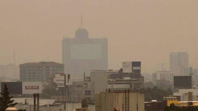 CDMX ha tenido cuatro días de mala calidad del aire (Foto: Twitter PonchoMunoz)