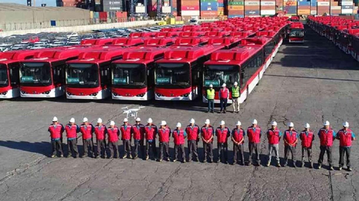 La flota en Chile