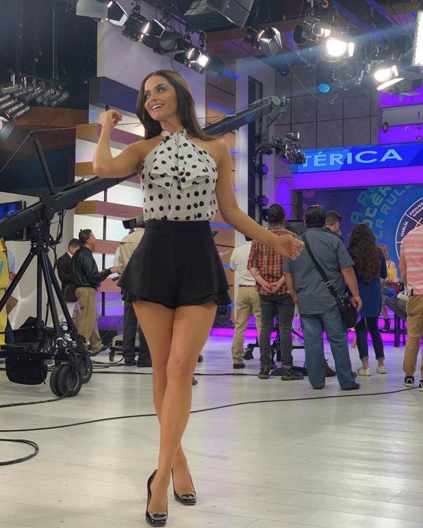 Marisol fue elogiada por este look con el que presumió sus piernas (Instagram: marisolglzc)