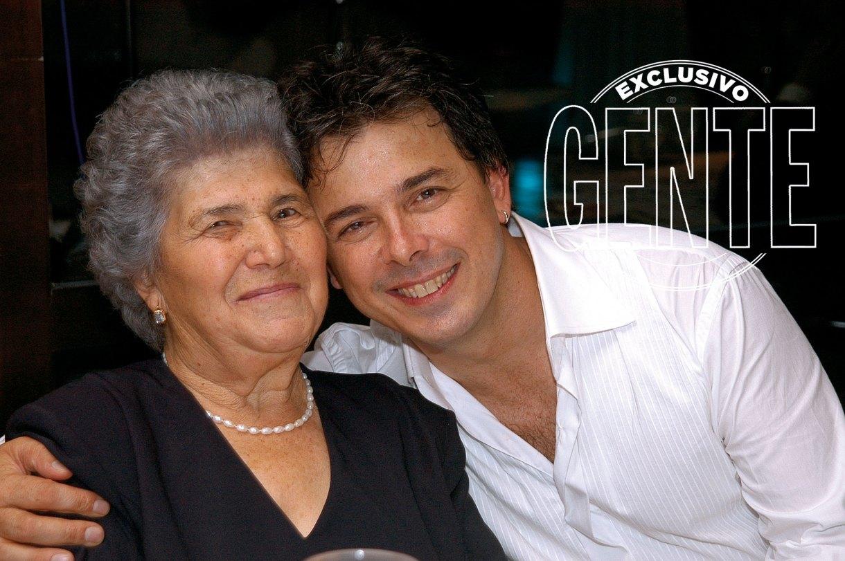 El chef con su mamma: María de Santis.