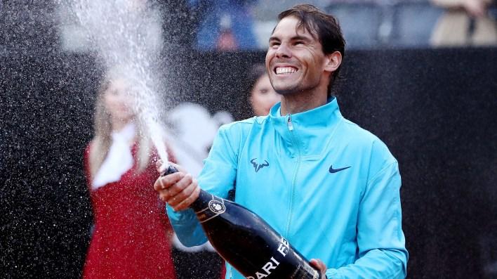 Nadal se impuso por 6-0, 4-6 y 6-1(Foto: REUTERS)