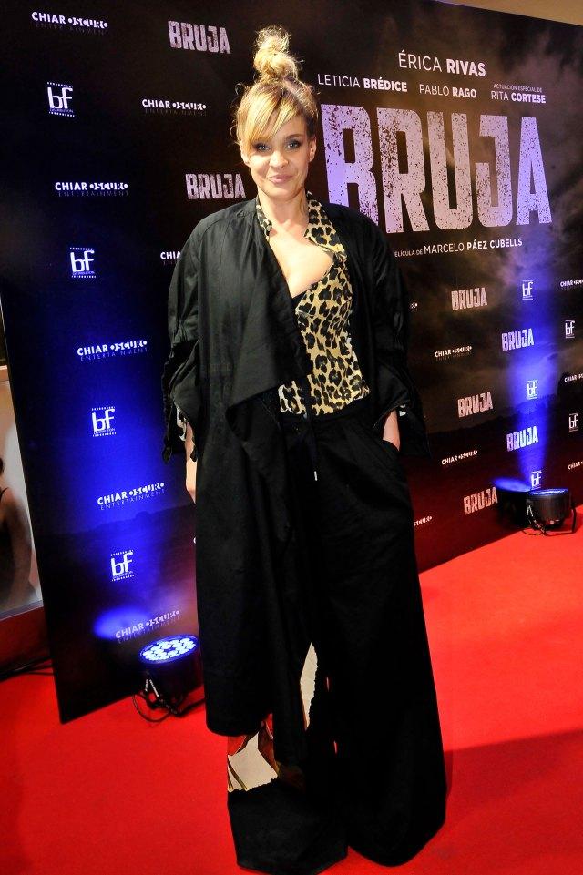 """Letice Brédice, protagonista del filme se despidió esta semana del """"Bailando"""""""