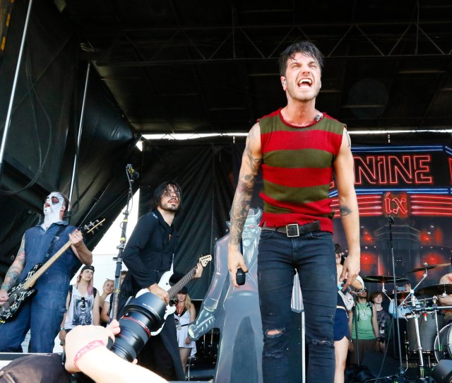 Ice Nine Kills Performed At The Vans Warped Tour On Aug 4 2018 At The Midflorida Credit Union Amphitheatre In Tampa Luis Santana Times