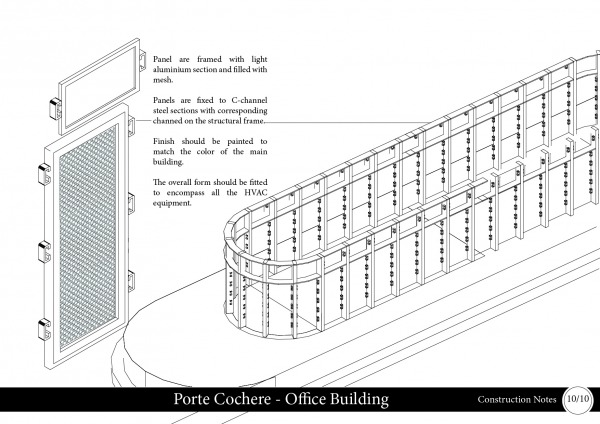 Satisfies deliverable: Perspective View(s) where appropriate