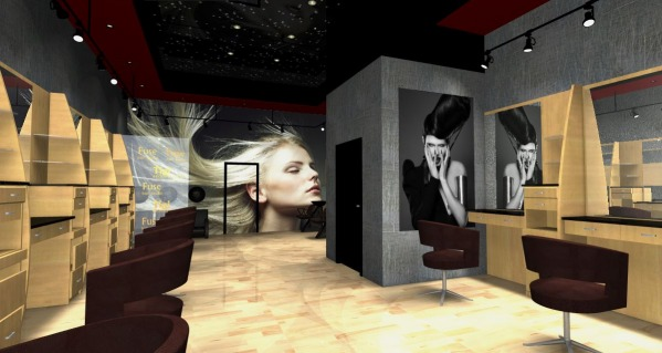 Other Designed by Marina Dil  Hair Salon Interior Design
