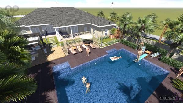 Backyard Designed by a+bd_architects