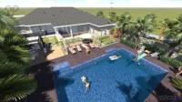 Backyard Designed by a+bd_architects - Backyard with Pool ...
