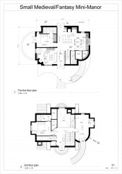medieval manor fantasy floor plan mini arcbazar fan 2nd
