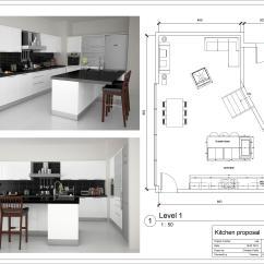 Kitchen Design Layouts Countertop Stools Floor Plan Designs For Home