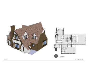 manor medieval fantasy homes layout gothic braunfels residential texas states united mini building single location