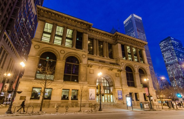 Chicago Cultural Center Buildings Of