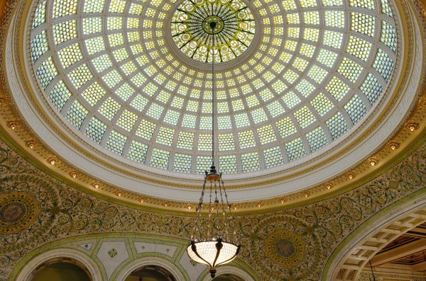 Chicago Cultural Center Architecture
