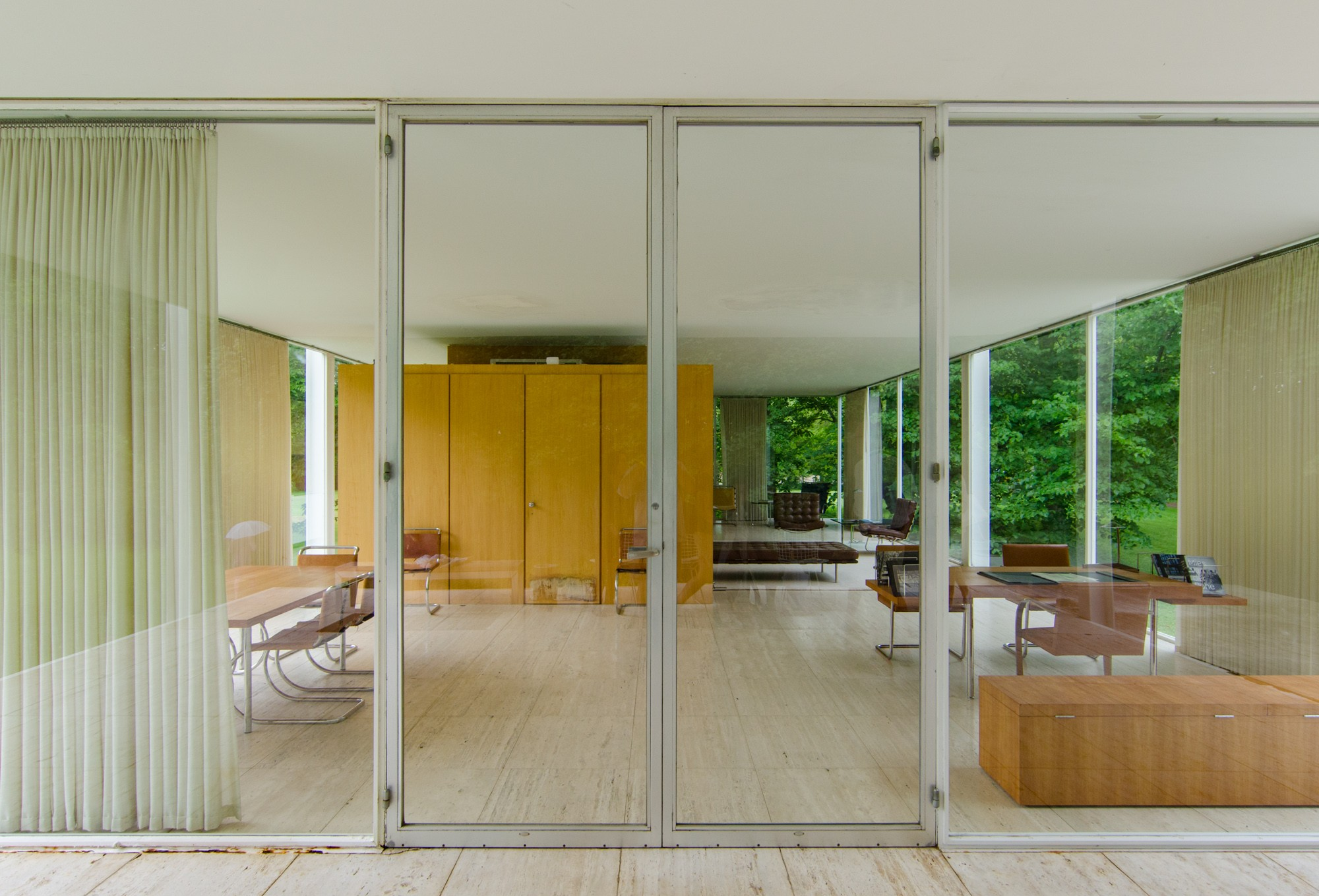 Farnsworth House Buildings Of Chicago Chicago
