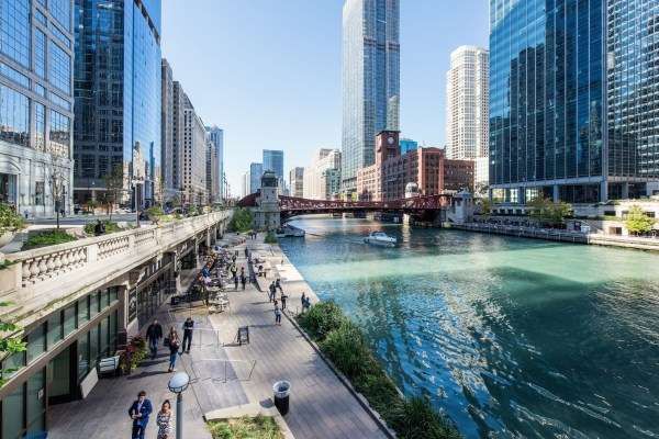 Riverwalk West Tours Chicago Architecture Foundation - Caf