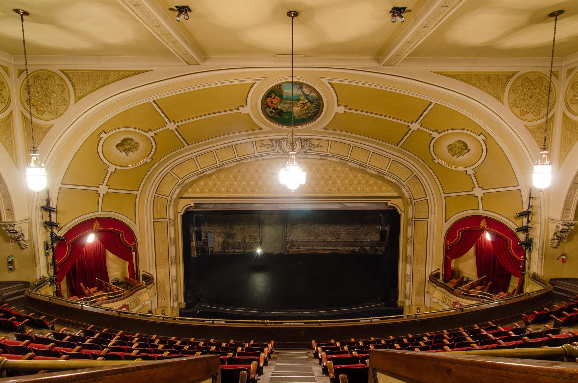 Athenaeum Theatre  Sites  Open House Chicago