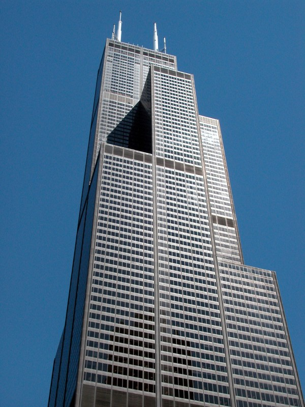 Willis Tower And 311 . Wacker Drive Tours Chicago