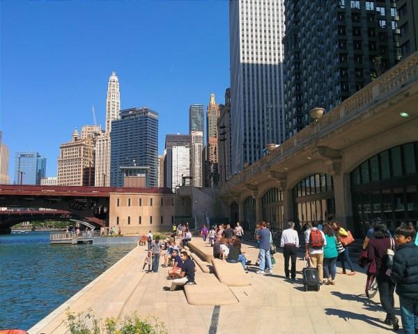 Chicago' Riverwalk Chicago Architecture Center - Cac