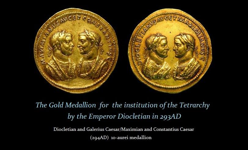 Tetrarchy-Medallion