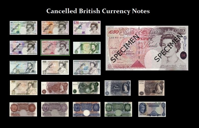 UK-Cancelled notes
