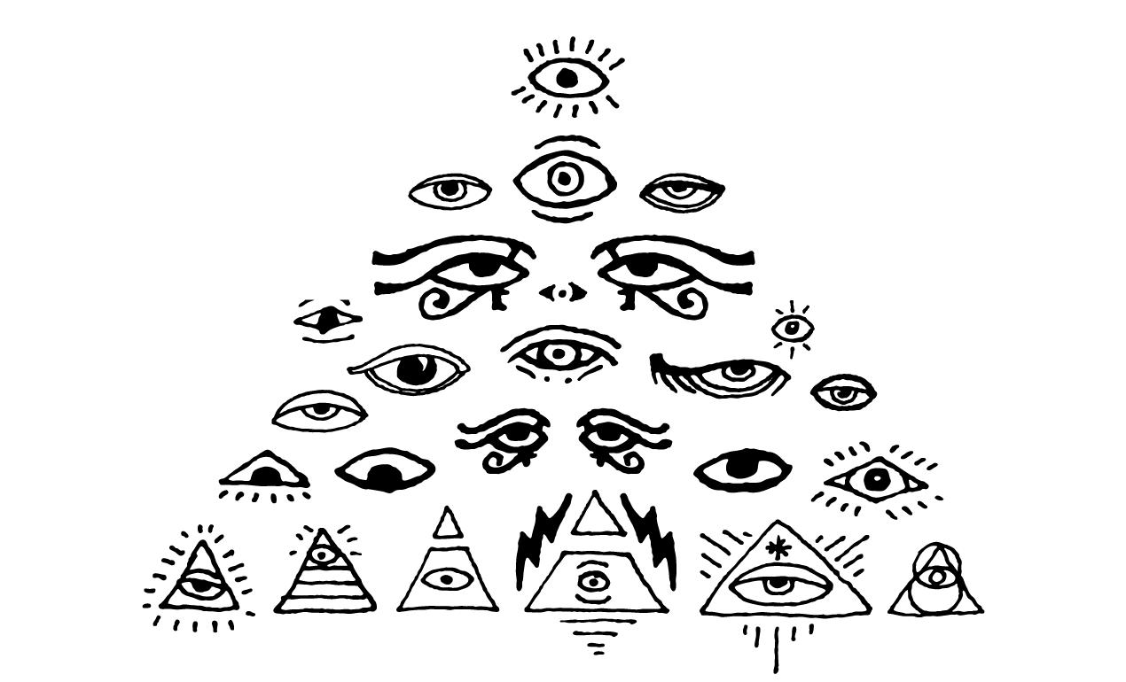 All Seeing Eyes Vector Pack For Adobe Illustrator