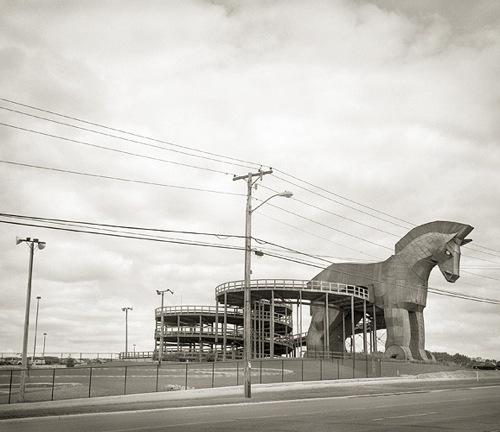 "Beth Dow, 'Trojan Horse,' platinum palladium print, 20""x 24"""