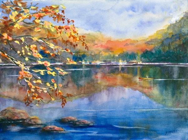 Landscape Paintings Contemporary Art In Watercolor